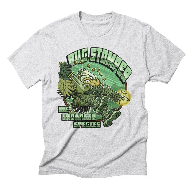 BUG STOMPER! Men's Triblend T-Shirt by Inkdwell's Artist Shop