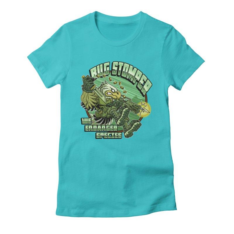 BUG STOMPER! Women's T-Shirt by Inkdwell's Artist Shop