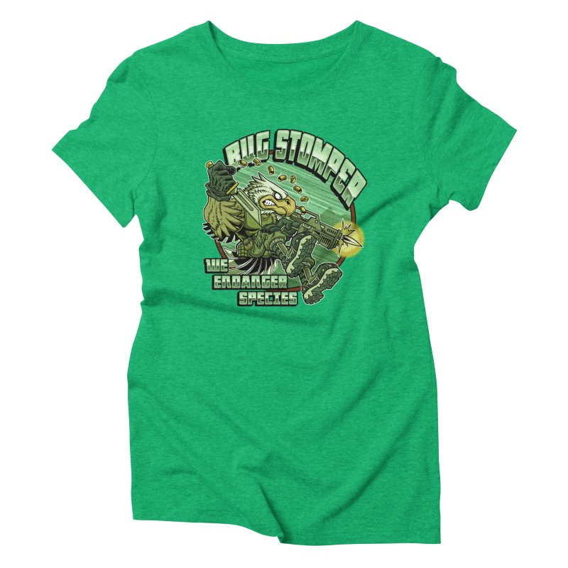 BUG STOMPER! Women's Triblend T-Shirt by Inkdwell's Artist Shop