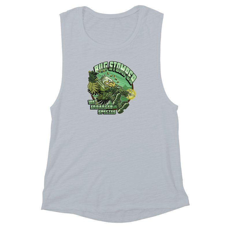 BUG STOMPER! Women's Muscle Tank by Inkdwell's Artist Shop