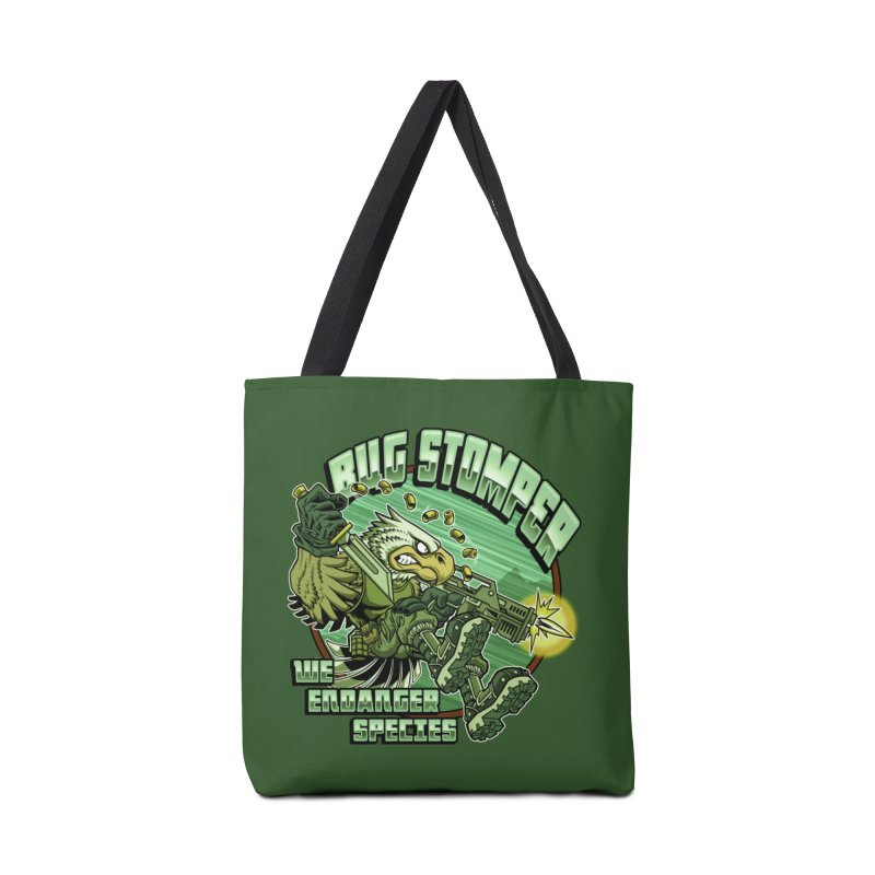 BUG STOMPER! Accessories Tote Bag Bag by Inkdwell's Artist Shop