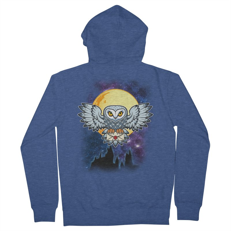 SPECIAL DELIVERY!  Men's French Terry Zip-Up Hoody by Inkdwell's Artist Shop