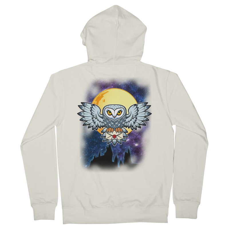 SPECIAL DELIVERY!  Men's Zip-Up Hoody by Inkdwell's Artist Shop