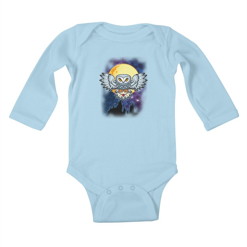 SPECIAL DELIVERY!  Kids Baby Longsleeve Bodysuit by Inkdwell's Artist Shop