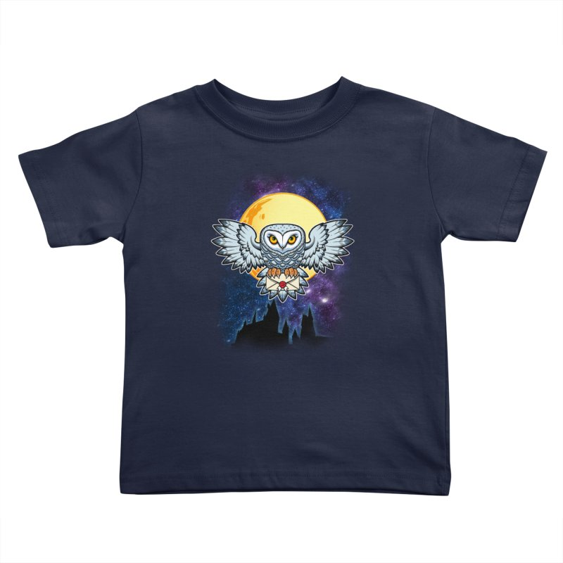 SPECIAL DELIVERY!  Kids Toddler T-Shirt by Inkdwell's Artist Shop