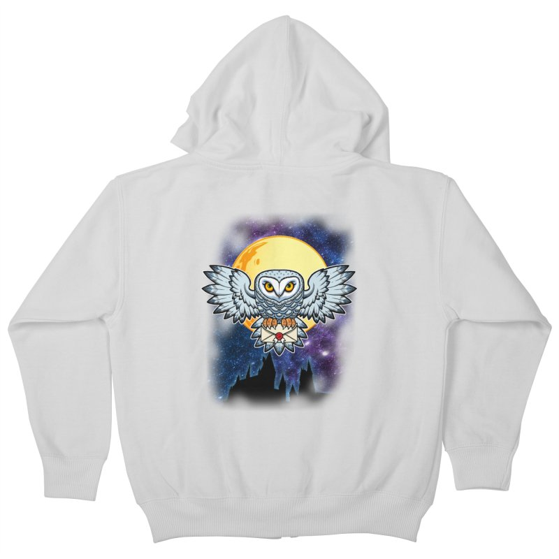 SPECIAL DELIVERY!  Kids Zip-Up Hoody by Inkdwell's Artist Shop