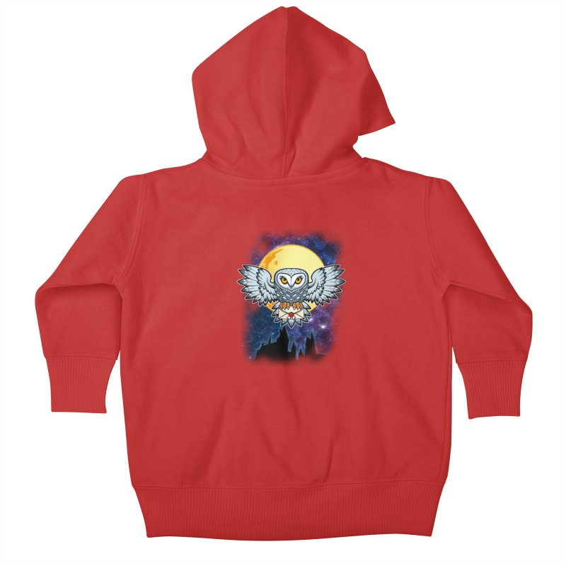 SPECIAL DELIVERY!  Kids Baby Zip-Up Hoody by Inkdwell's Artist Shop
