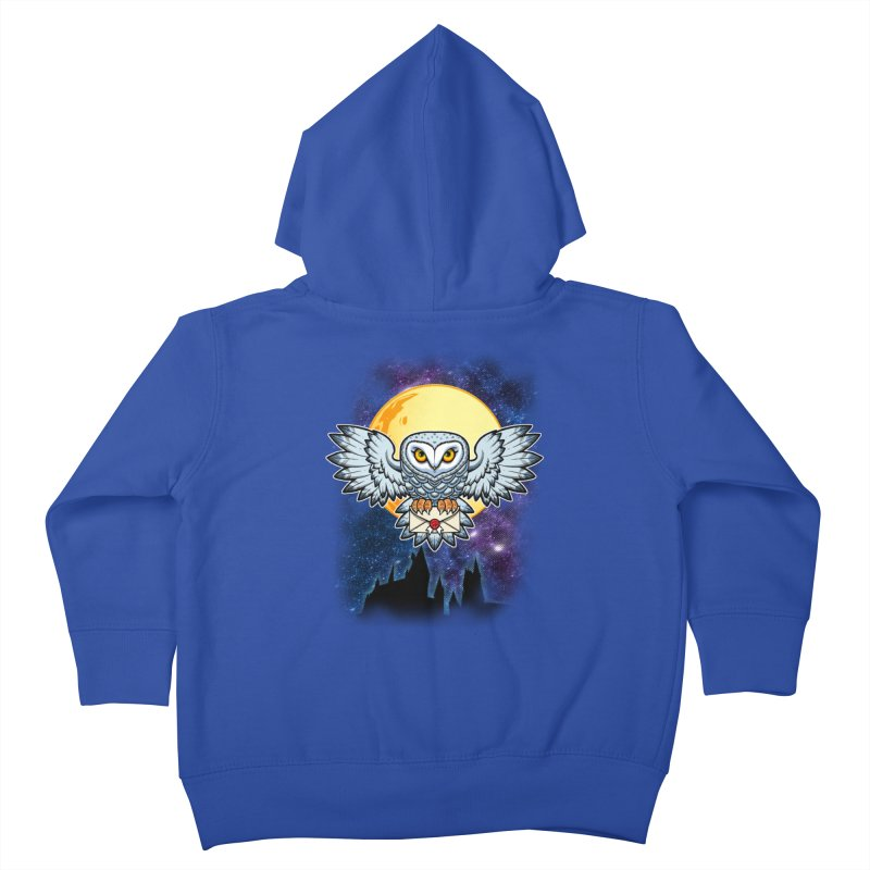 SPECIAL DELIVERY!  Kids Toddler Zip-Up Hoody by Inkdwell's Artist Shop