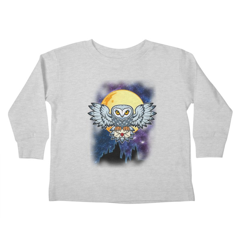 SPECIAL DELIVERY!  Kids Toddler Longsleeve T-Shirt by Inkdwell's Artist Shop