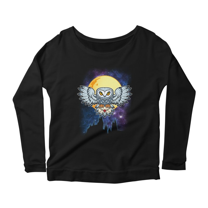 SPECIAL DELIVERY!  Women's Scoop Neck Longsleeve T-Shirt by Inkdwell's Artist Shop