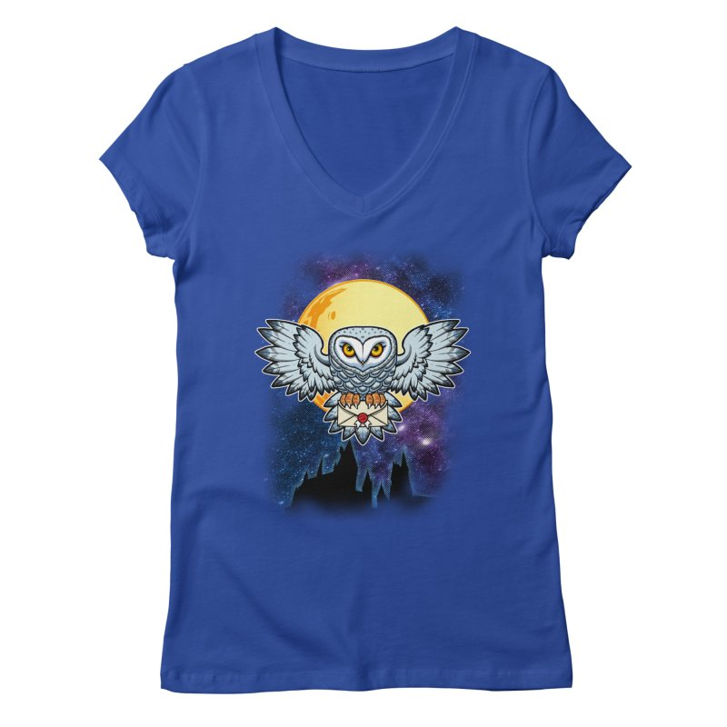 SPECIAL DELIVERY!  Women's V-Neck by Inkdwell's Artist Shop