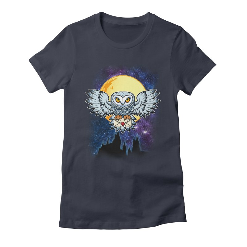 SPECIAL DELIVERY!  Women's Fitted T-Shirt by Inkdwell's Artist Shop