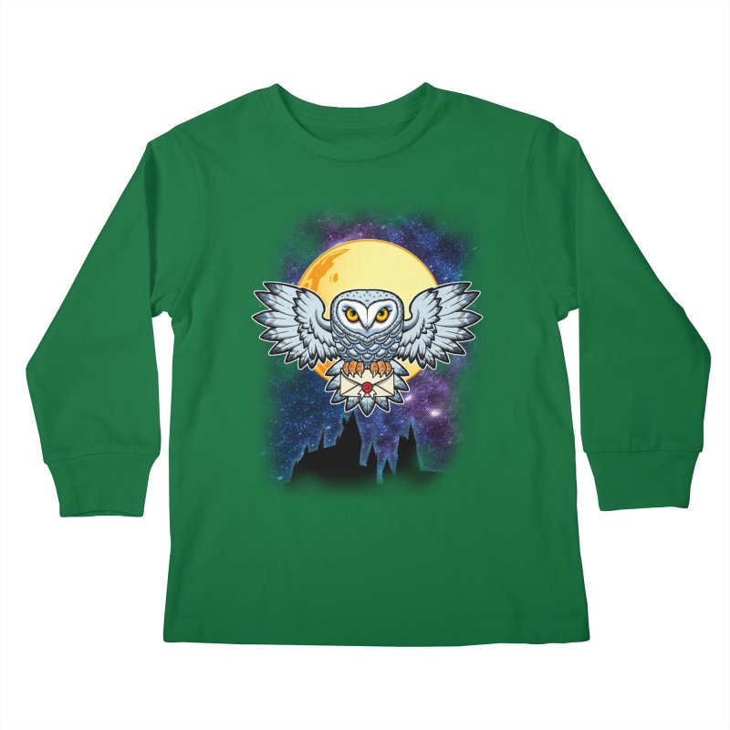 SPECIAL DELIVERY!  Kids Longsleeve T-Shirt by Inkdwell's Artist Shop