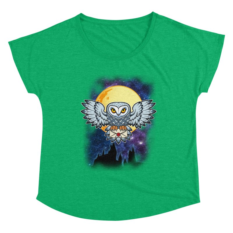 SPECIAL DELIVERY!  Women's Scoop Neck by Inkdwell's Artist Shop
