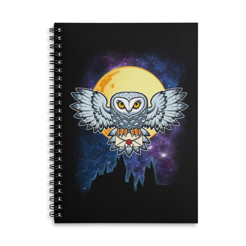 SPECIAL DELIVERY!  Accessories Lined Spiral Notebook by Inkdwell's Artist Shop