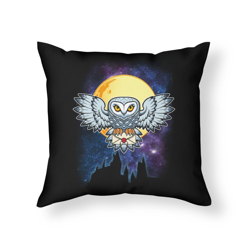 SPECIAL DELIVERY!  Home Throw Pillow by Inkdwell's Artist Shop