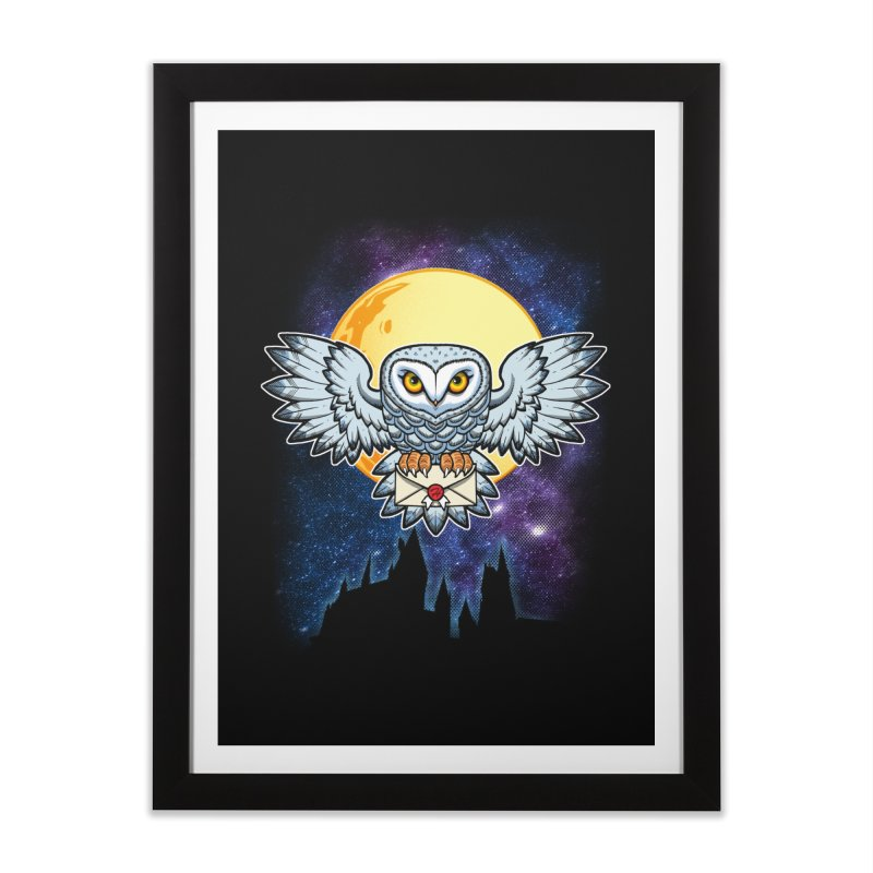 SPECIAL DELIVERY!  Home Framed Fine Art Print by Inkdwell's Artist Shop