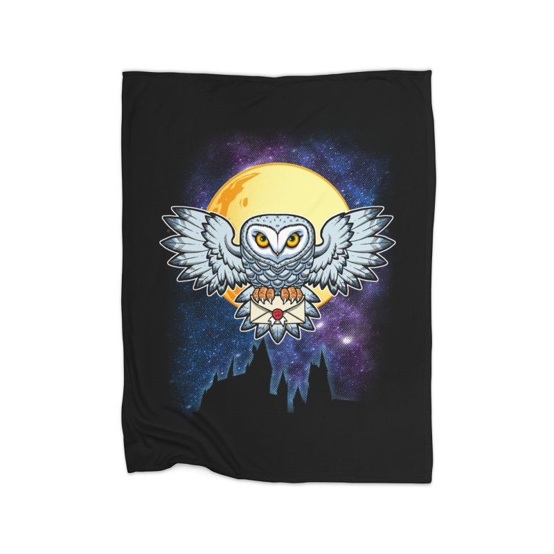 SPECIAL DELIVERY!  Home Fleece Blanket Blanket by Inkdwell's Artist Shop