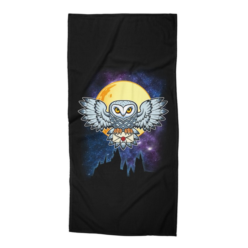 SPECIAL DELIVERY!  Accessories Beach Towel by Inkdwell's Artist Shop