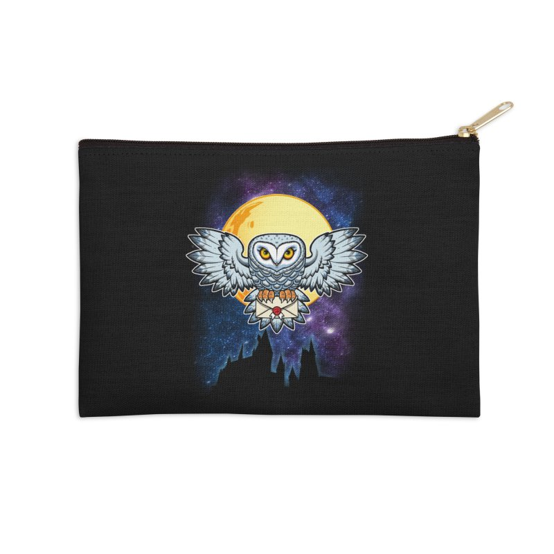 SPECIAL DELIVERY!  Accessories Zip Pouch by Inkdwell's Artist Shop