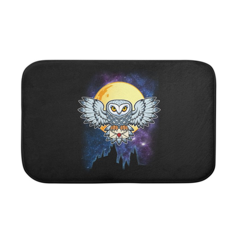 SPECIAL DELIVERY!  Home Bath Mat by Inkdwell's Artist Shop
