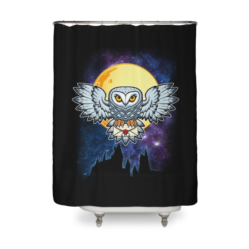 SPECIAL DELIVERY!  Home Shower Curtain by Inkdwell's Artist Shop