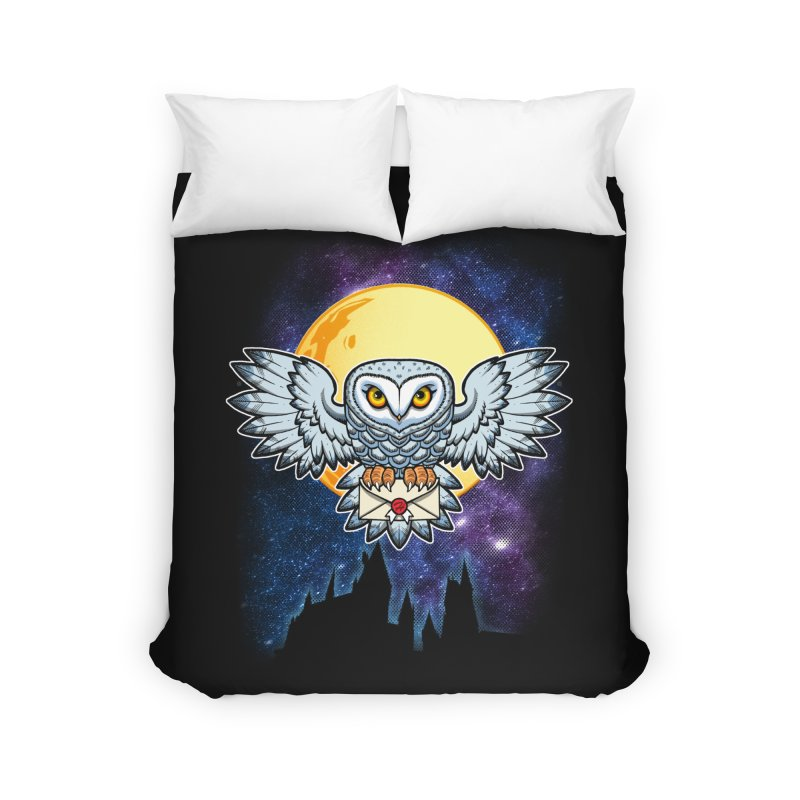 SPECIAL DELIVERY!  Home Duvet by Inkdwell's Artist Shop