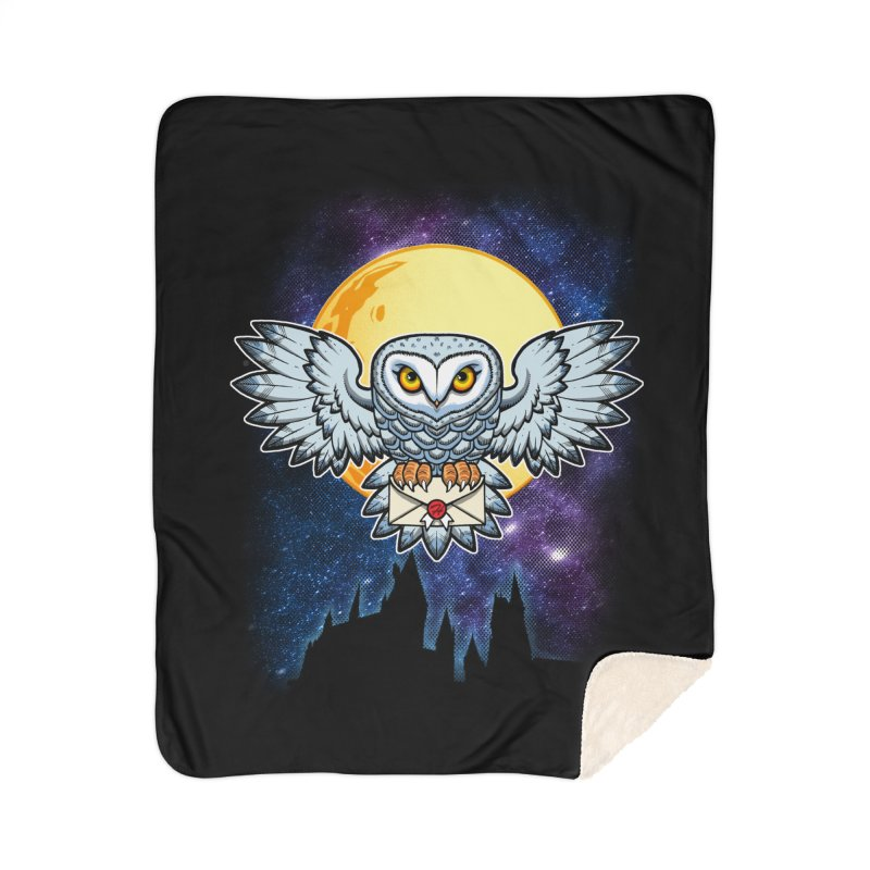 SPECIAL DELIVERY!  Home Sherpa Blanket Blanket by Inkdwell's Artist Shop