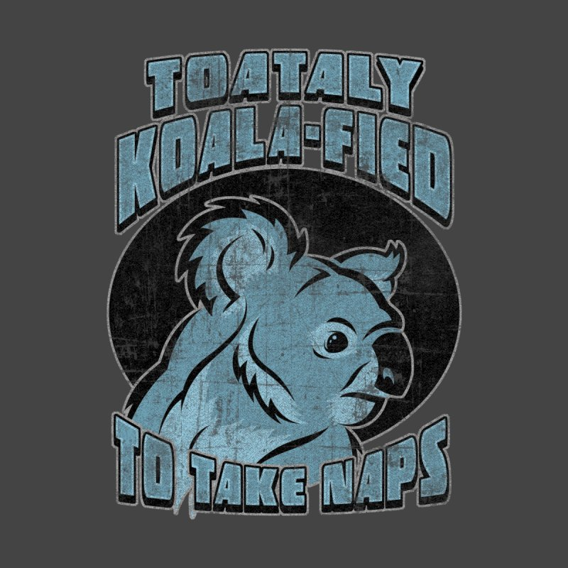 KOALAFIED Men's T-Shirt by Inkdwell's Artist Shop