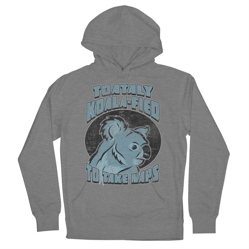 KOALAFIED Women's French Terry Pullover Hoody by Inkdwell's Artist Shop