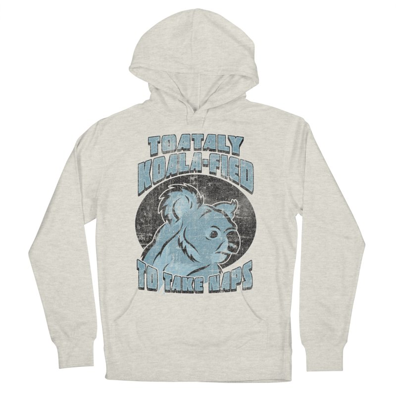 KOALAFIED Men's French Terry Pullover Hoody by Inkdwell's Artist Shop