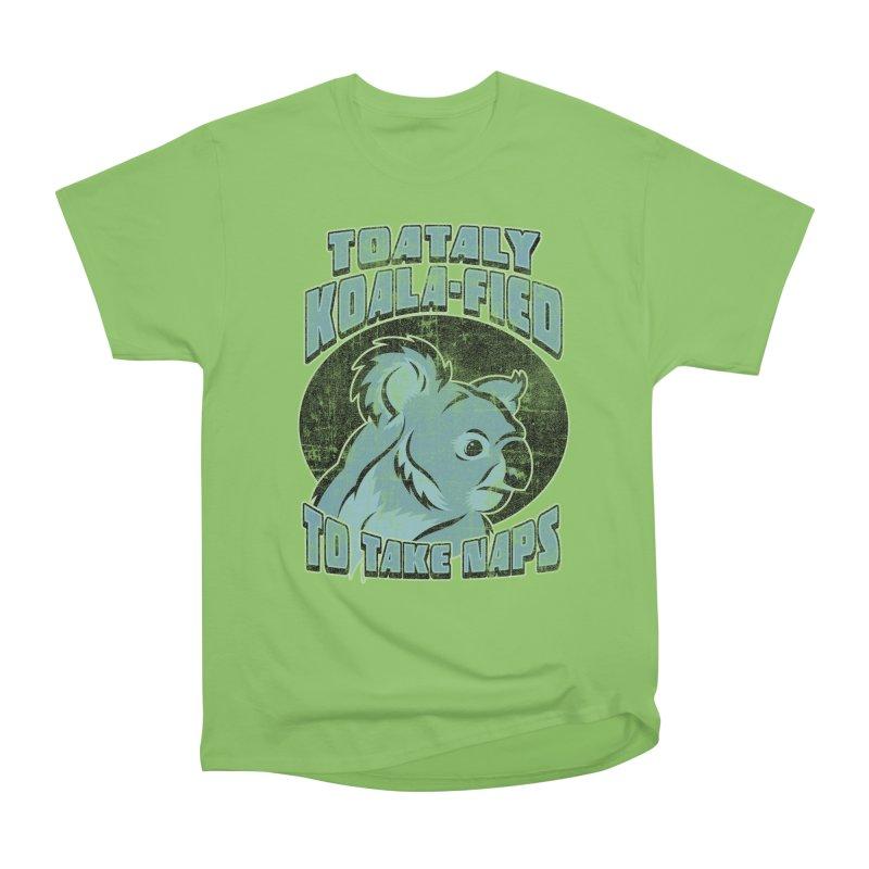KOALAFIED Men's Heavyweight T-Shirt by Inkdwell's Artist Shop