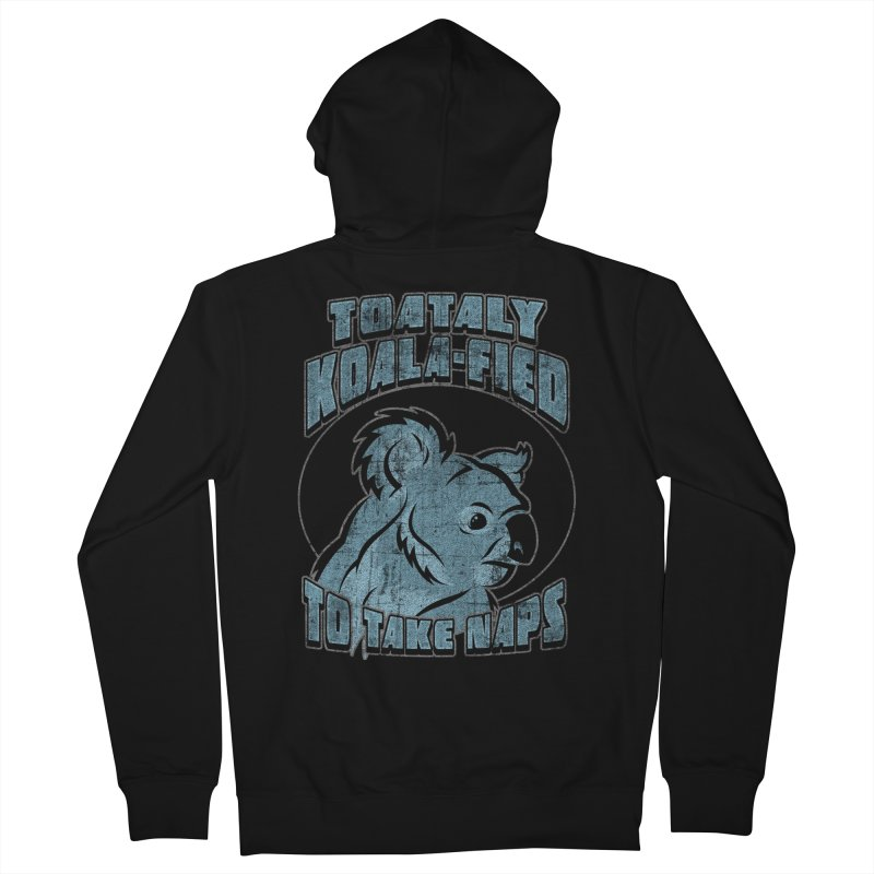 KOALAFIED Men's French Terry Zip-Up Hoody by Inkdwell's Artist Shop
