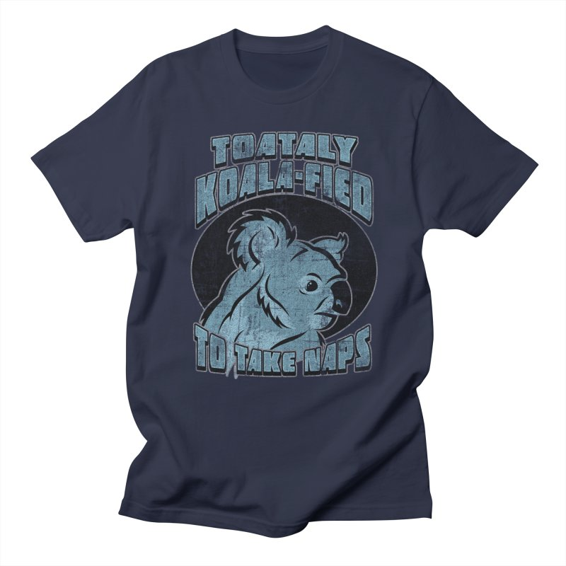 KOALAFIED Women's Regular Unisex T-Shirt by Inkdwell's Artist Shop