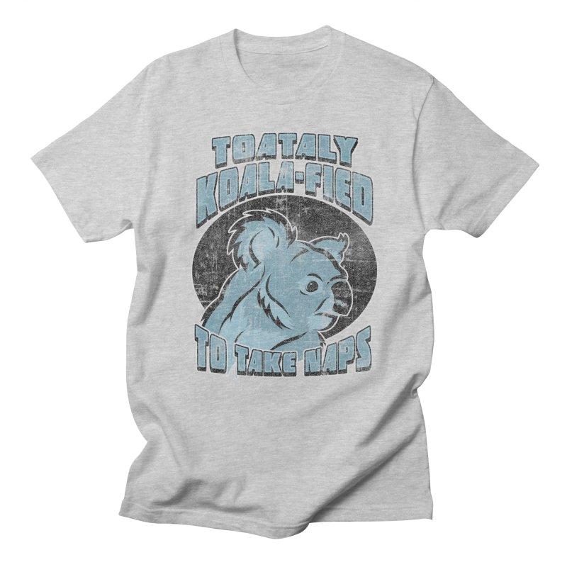 KOALAFIED Men's T-Shirt by Inkdwell's Artist Shop