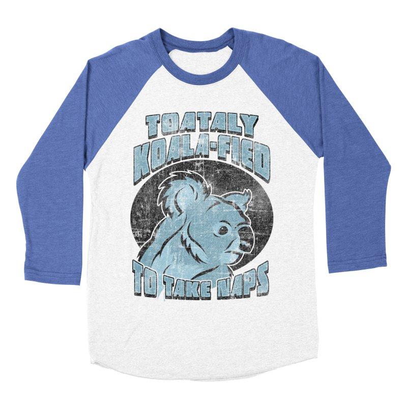 KOALAFIED Women's Baseball Triblend T-Shirt by Inkdwell's Artist Shop