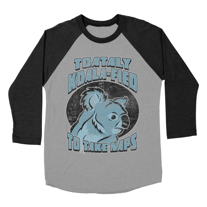 KOALAFIED Women's Baseball Triblend Longsleeve T-Shirt by Inkdwell's Artist Shop