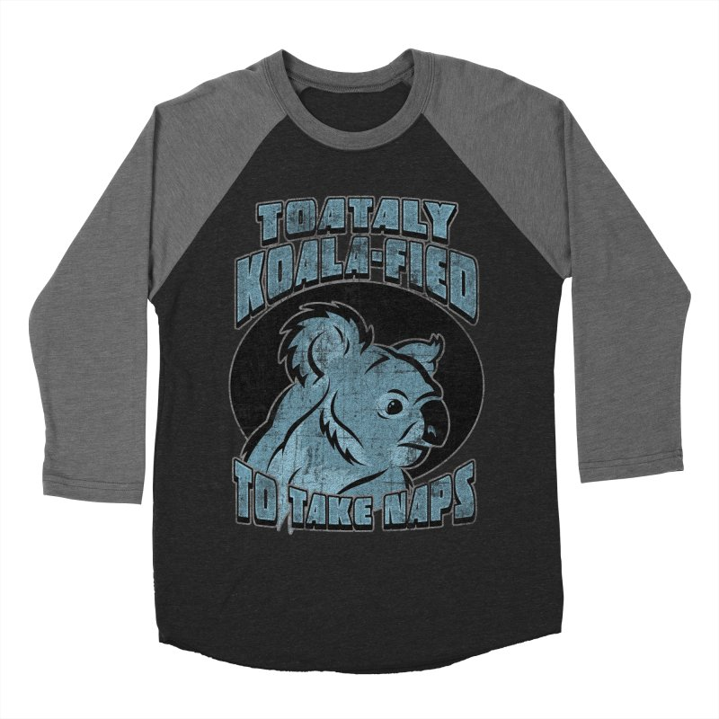 KOALAFIED Men's Baseball Triblend Longsleeve T-Shirt by Inkdwell's Artist Shop