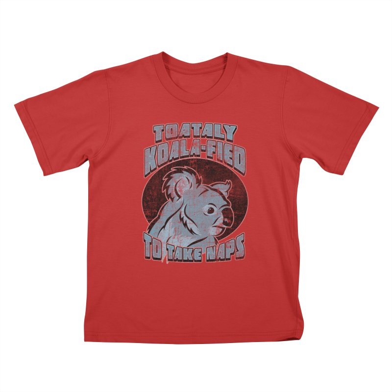KOALAFIED Kids T-Shirt by Inkdwell's Artist Shop