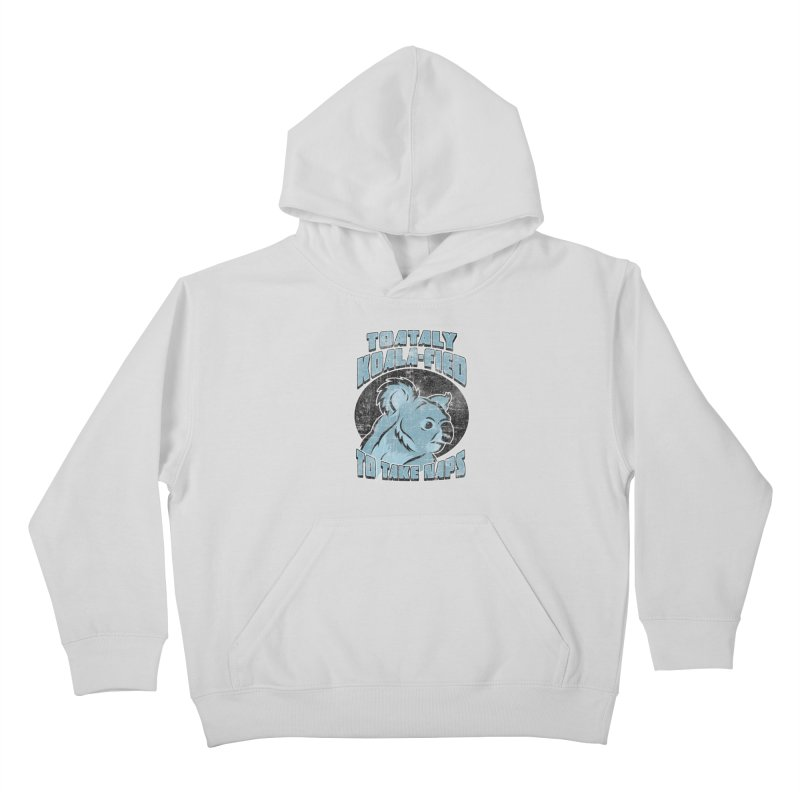 KOALAFIED Kids Pullover Hoody by Inkdwell's Artist Shop