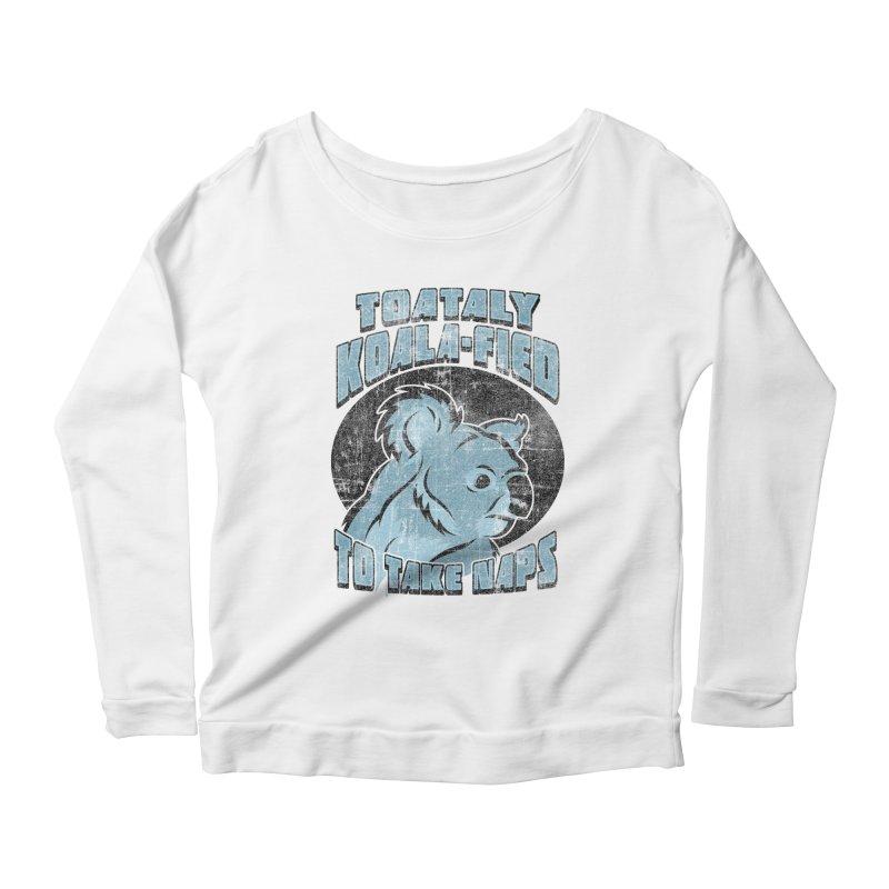 KOALAFIED Women's Scoop Neck Longsleeve T-Shirt by Inkdwell's Artist Shop