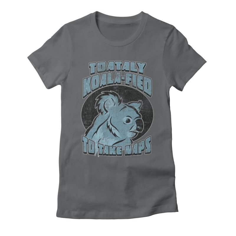 KOALAFIED Women's Fitted T-Shirt by Inkdwell's Artist Shop