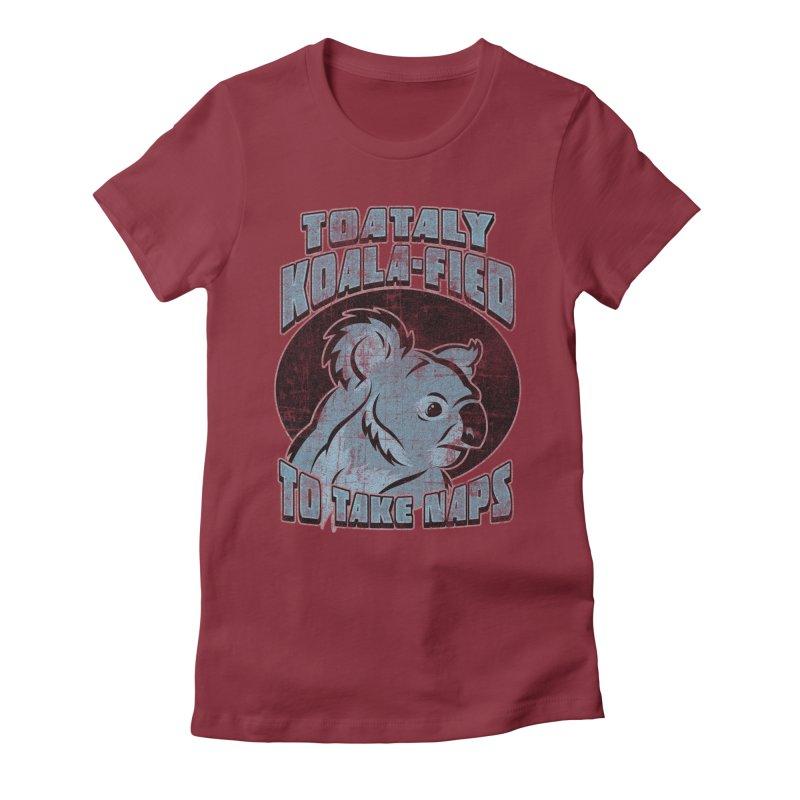 KOALAFIED Women's T-Shirt by Inkdwell's Artist Shop