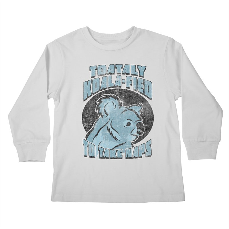 KOALAFIED Kids Longsleeve T-Shirt by Inkdwell's Artist Shop