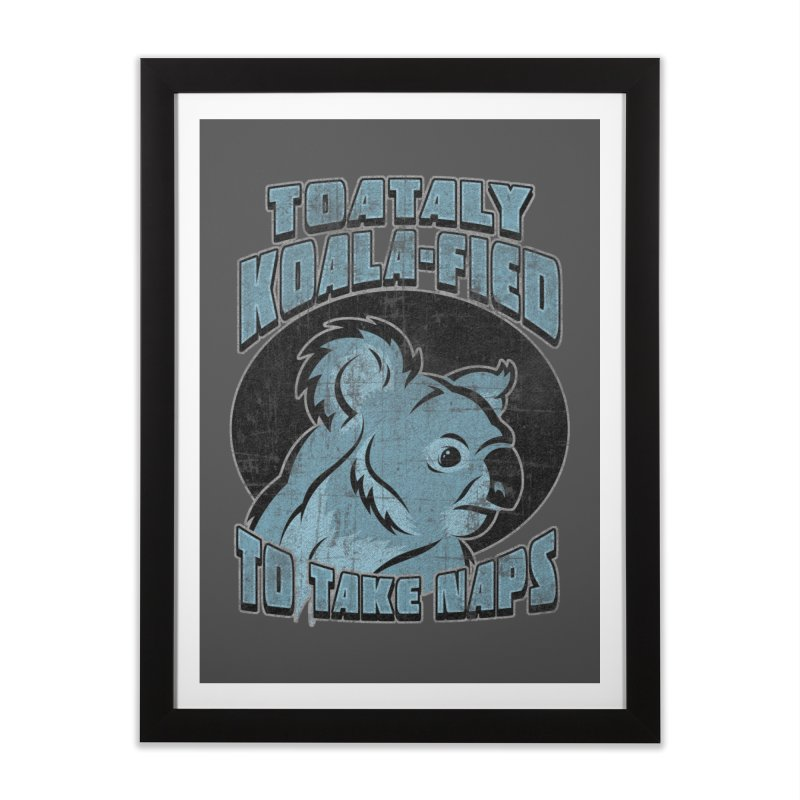 KOALAFIED Home Framed Fine Art Print by Inkdwell's Artist Shop