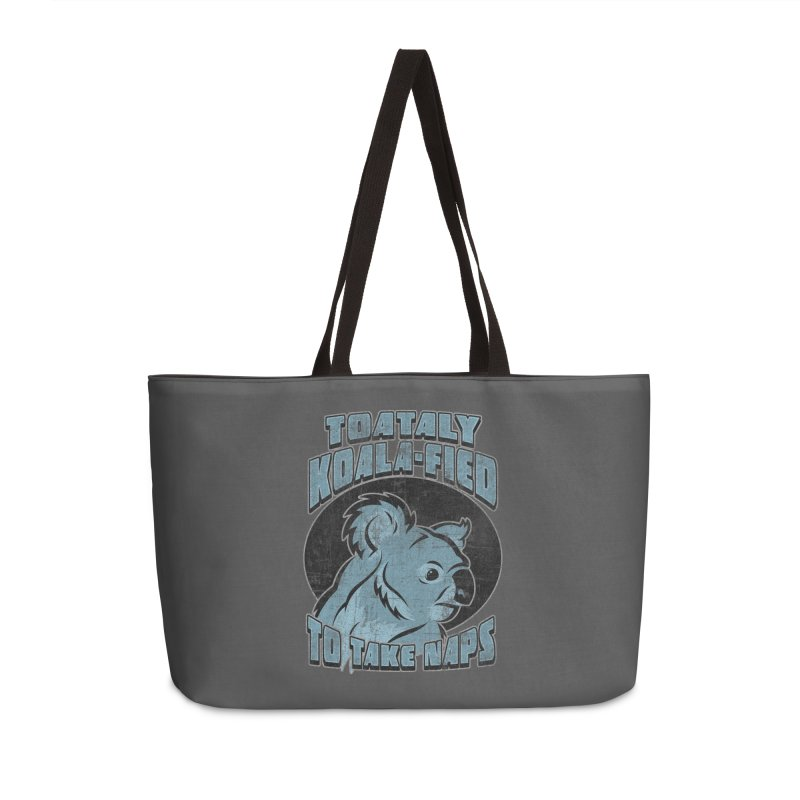 KOALAFIED Accessories Weekender Bag Bag by Inkdwell's Artist Shop