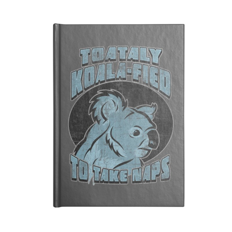 KOALAFIED Accessories Lined Journal Notebook by Inkdwell's Artist Shop