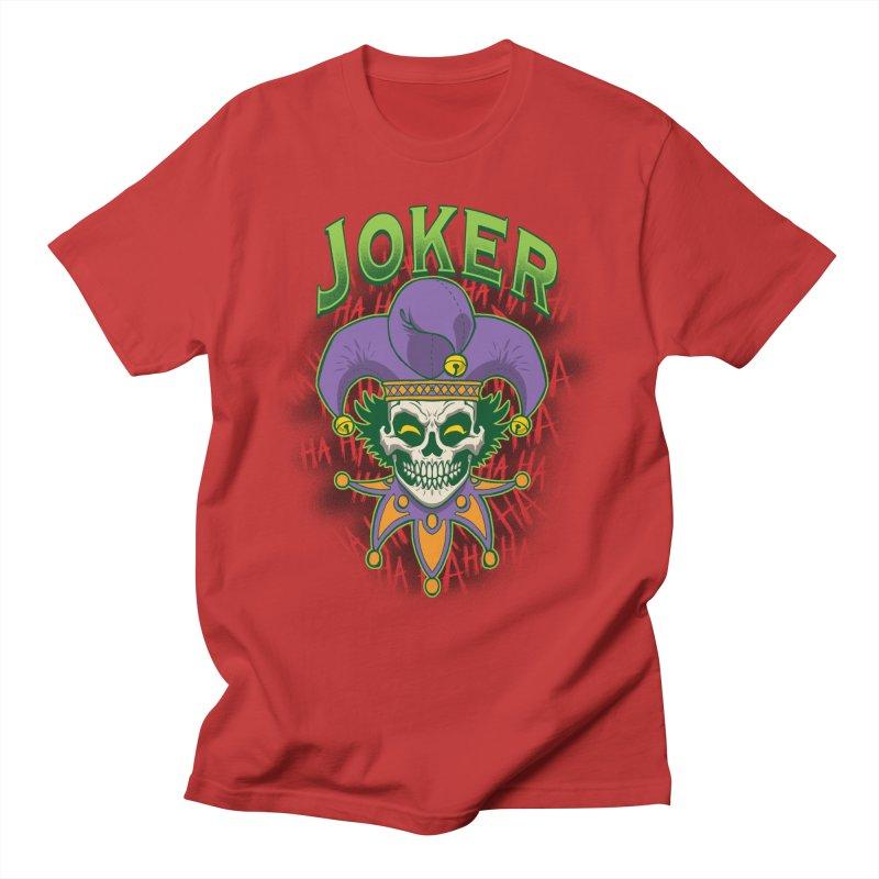 JOKER Men's T-Shirt by Inkdwell's Artist Shop