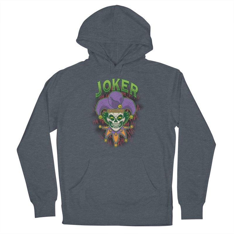 JOKER Men's Pullover Hoody by Inkdwell's Artist Shop
