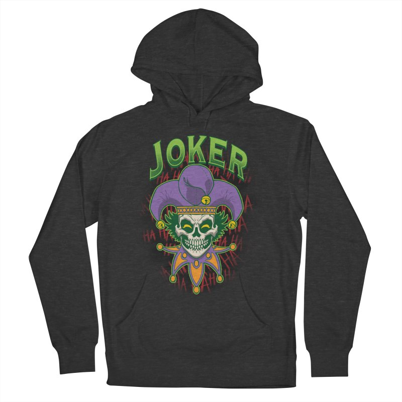 JOKER Men's French Terry Pullover Hoody by Inkdwell's Artist Shop